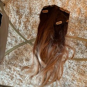 Custom balayage hair clips